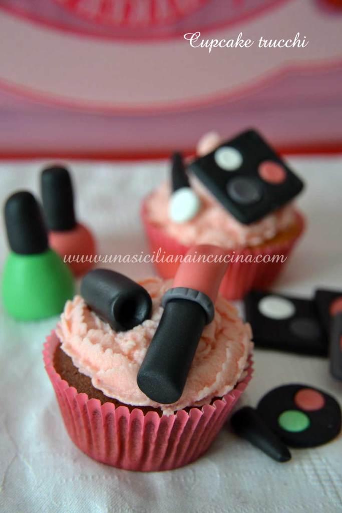 Cupcakes al cacao trucchi