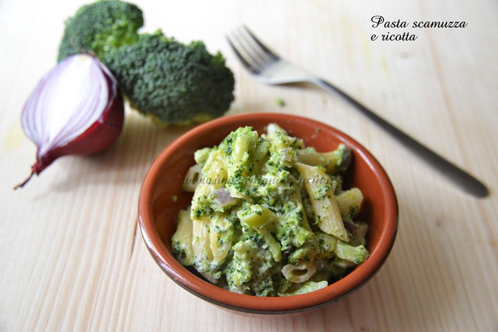 Pasta ricotta e broccoli