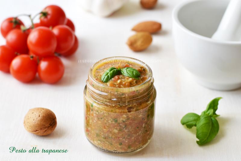 Pesto alla trapanese siciliano