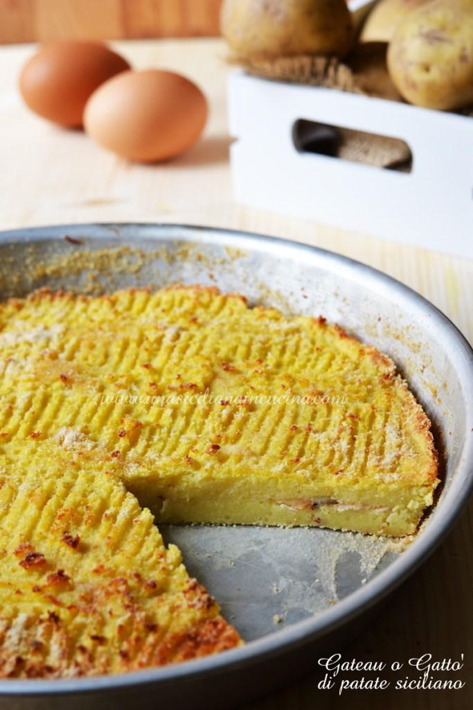 Gateau o Gatto di patate siciliano