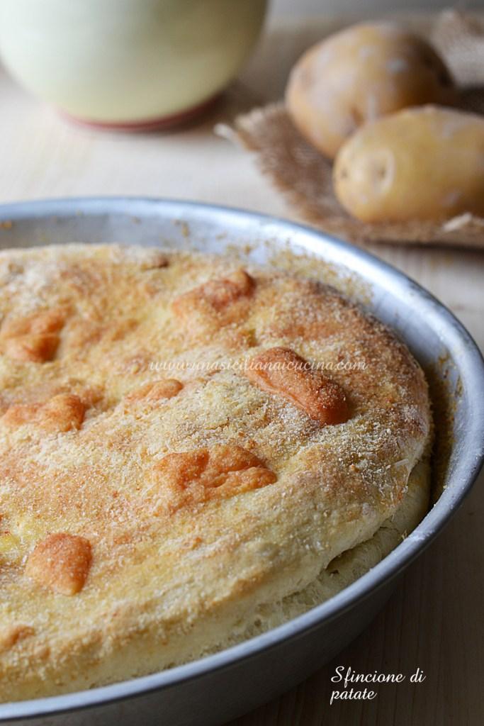 Sfincione di patate siciliano