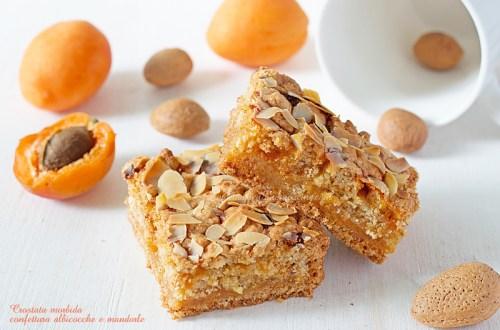 Crostata morbida integrale confettura albicocche