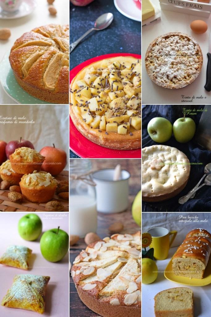 Raccolta dolci con le mele