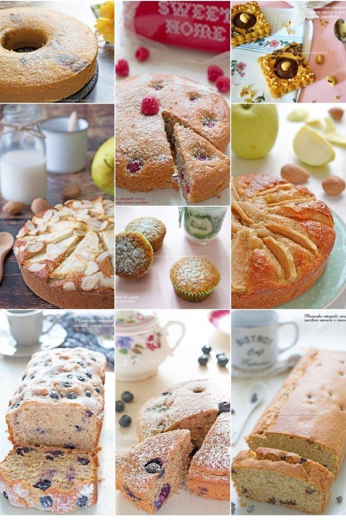 Raccolta dolci senza zucchero