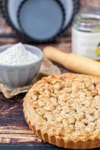 Sbriciolata integrale marmellata di bergamotto