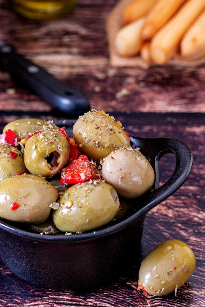 Olive verdi alla siciliana