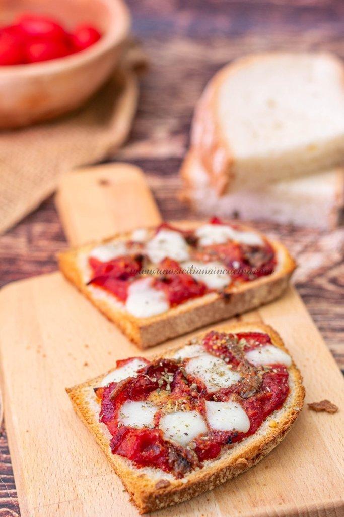 Pane pizza ricetta siciliana