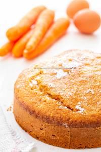 Torta integrale di carote