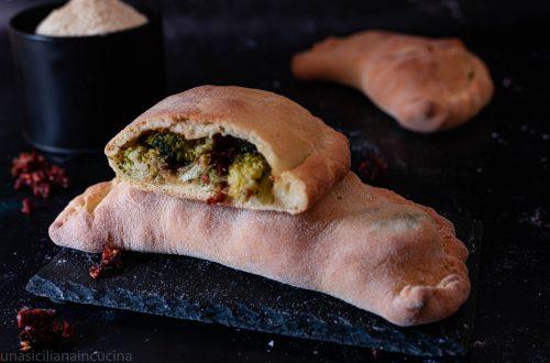 Scacce con broccoli siciliani