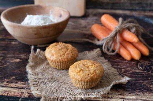 Tortine carote e farro integrale