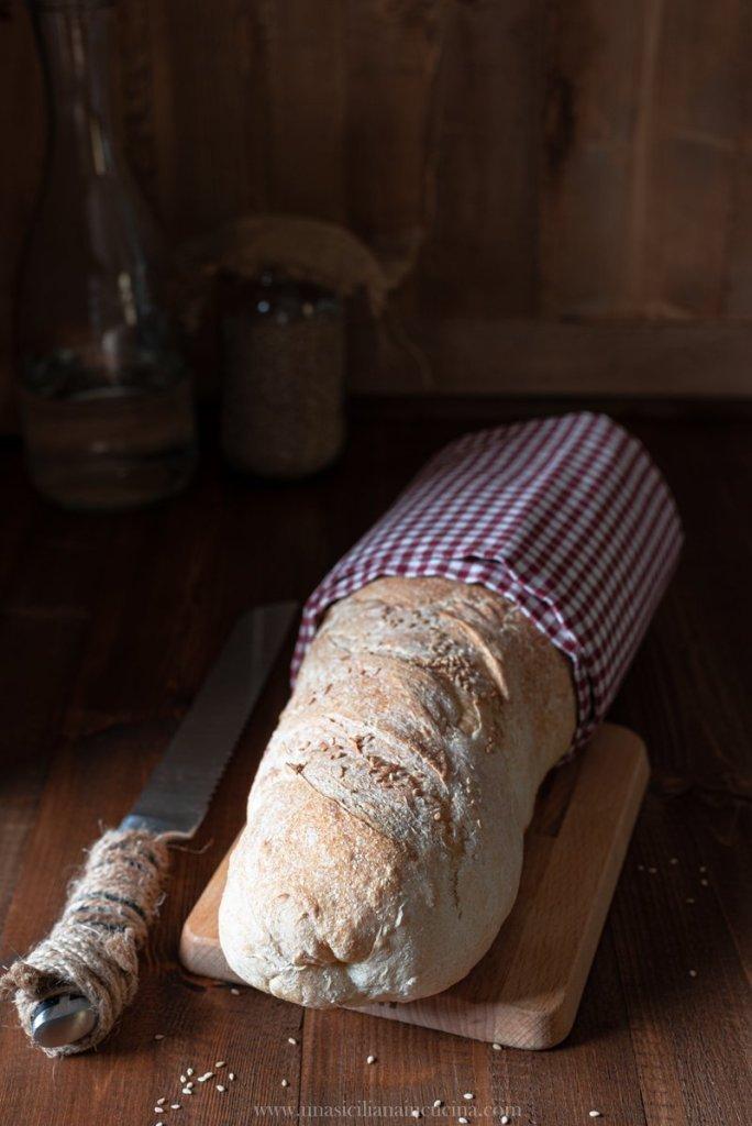 Pane siciliano misto semola
