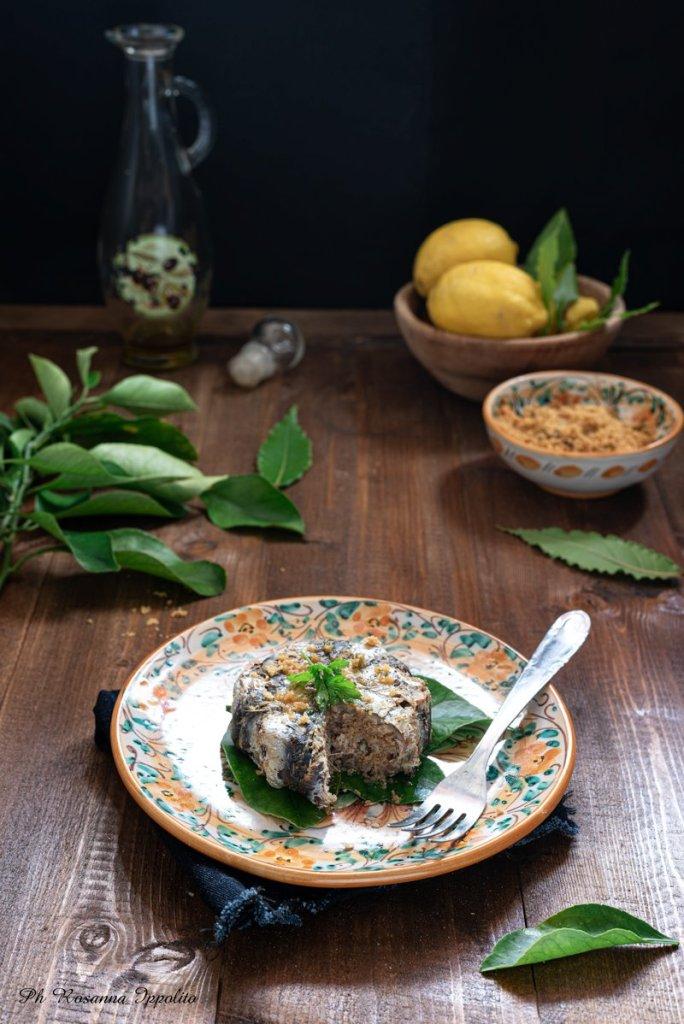 Tortino di sarde gratinato