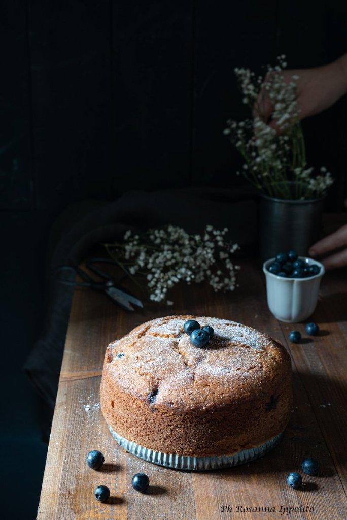 Torta ai mirtilli e yogurt