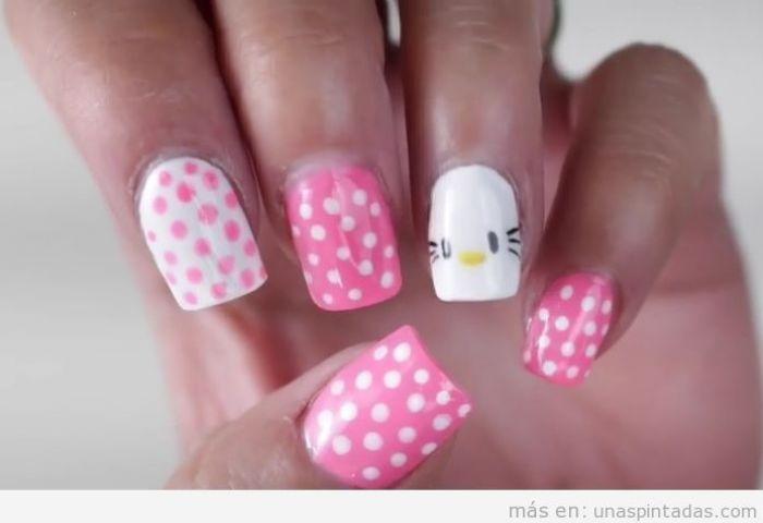 Hello Kitty Archivos Uñas Pintadas