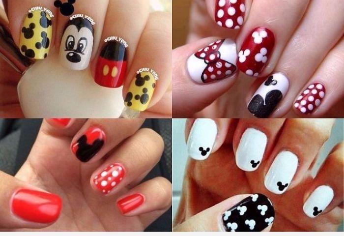 Decoraciones De Uñas Disney Personajes Que Te Enamoraron Y Sigues