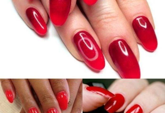 Uñas Pintadas De Rojo 30 Modelos De Uñas Que Te Seducirán Uñas