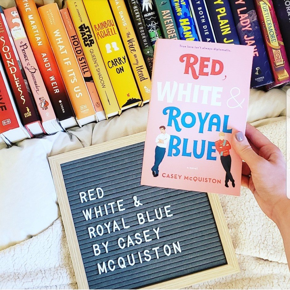 Book Club: Red, White, and Royal Blue