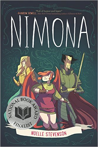 Nimona from 10 She-Ra Comic Recommendations | Unassigned Reading