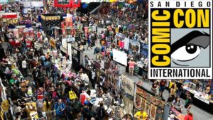 A shot of San Diego Comic-Con, it's massive!!