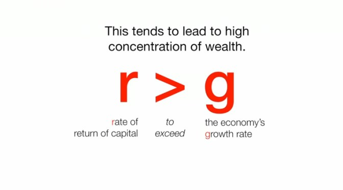 r > g – Conférence Thomas Piketty sur TED