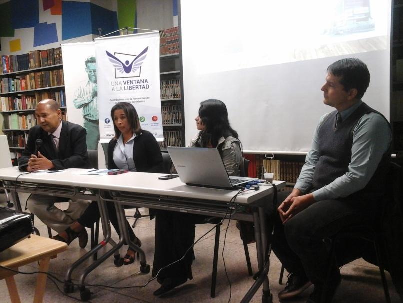 Una Ventana a la Libertad presentó informe sobre reclusión en el Sebin