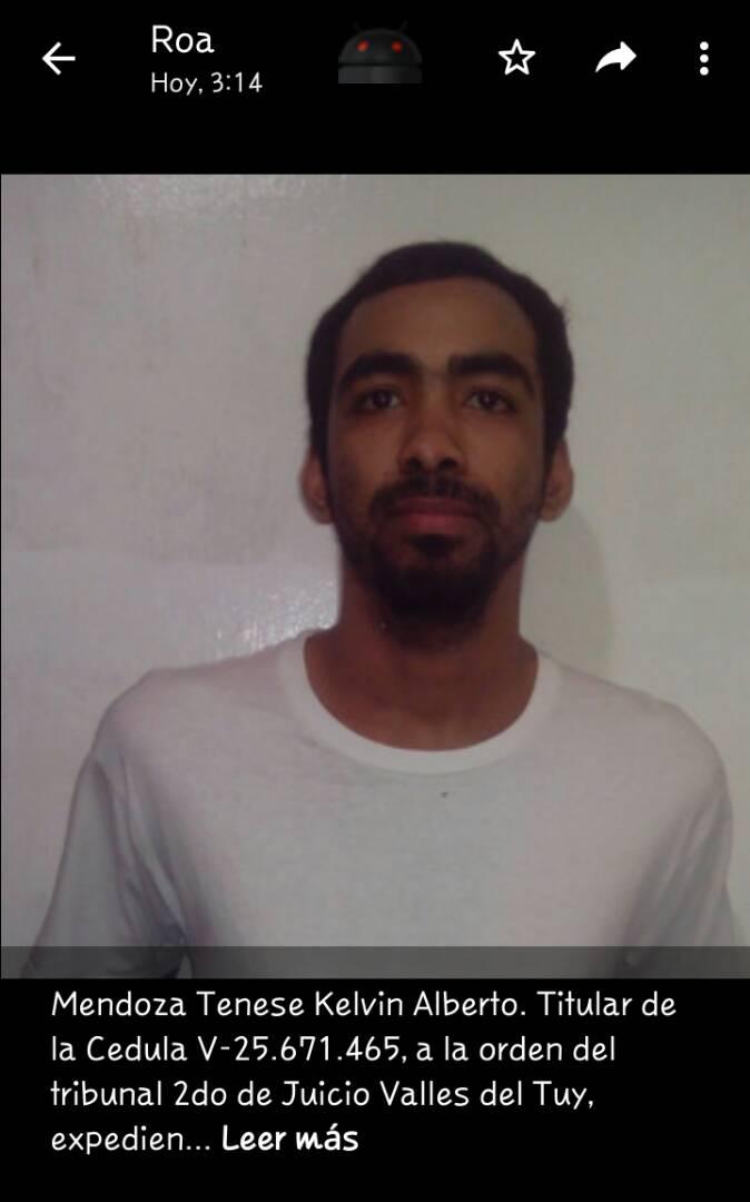 Miranda: Cuatro presos se fugaron de PoliCúa tras someter y herir a un funcionario