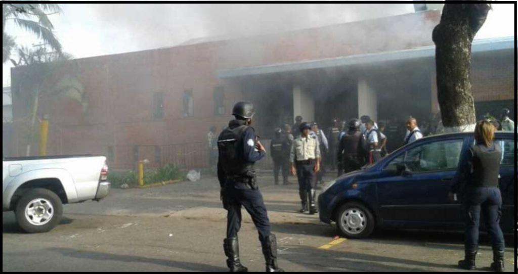 Carabobo:  se registró un motín en el centro de retención la Zulia de la Policía de Carabobo en Puerto Cabello