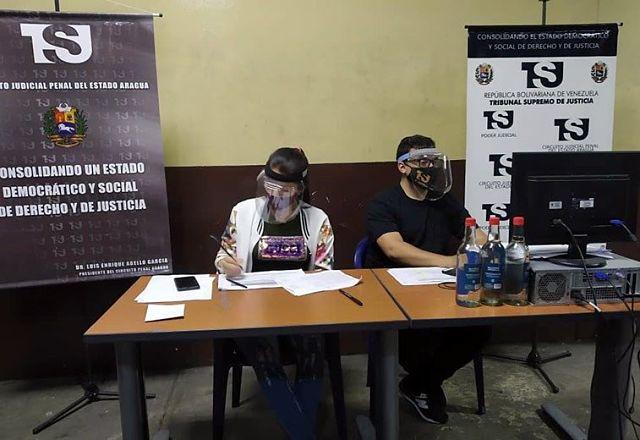 Más de 100 reclusos del estado Aragua fueron presentados ante un tribunal de control
