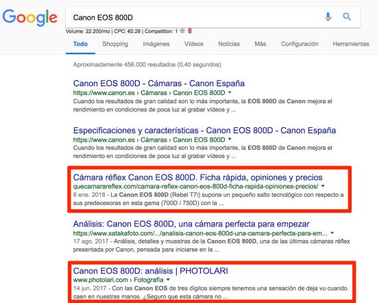 Analisis Canon EOS 800D