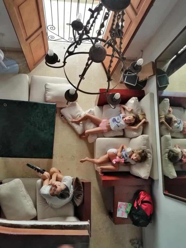 Nuestra casa de Airbnb de Cartagena de Indias.