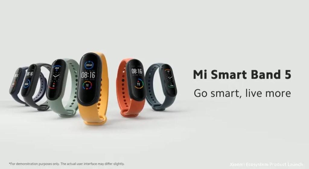 Xiaomi(シャオミ)「Mi Smart Band 5」日本での発売日と販売価格