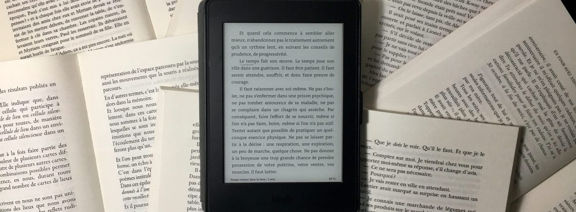 Test de la liseuse KindlePaperwhite Amazon