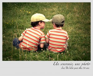 Frères, un souvenir une photo