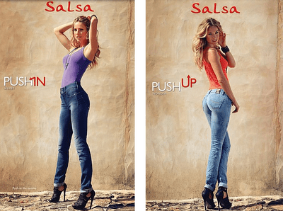 Salsa-jeans-push-in push up