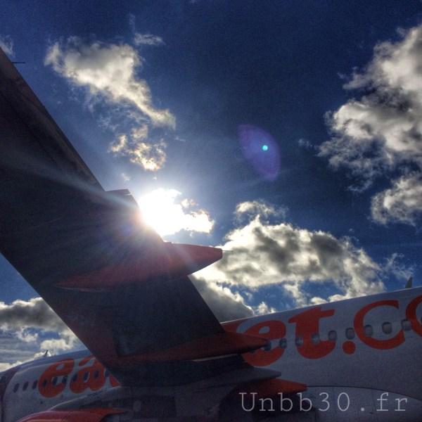 départ Nante Nice easy jet