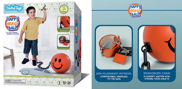 control-toys-happy-heavy-ball boulet pour enfant