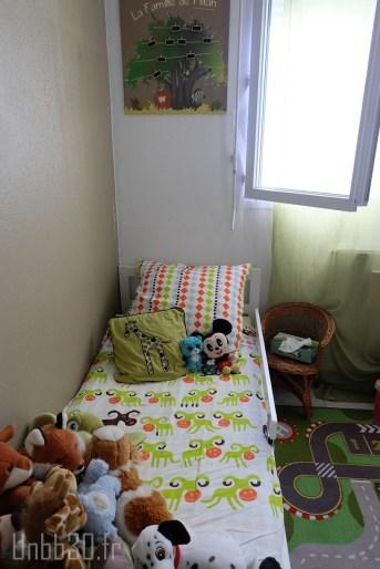 chambre enfant garçon coin lit ikéa