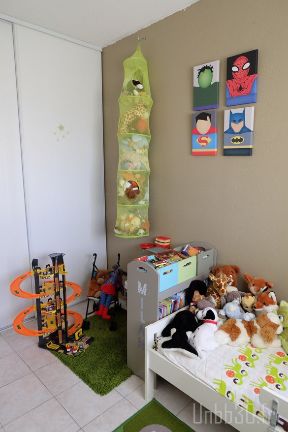 chambre enfant garçon garage