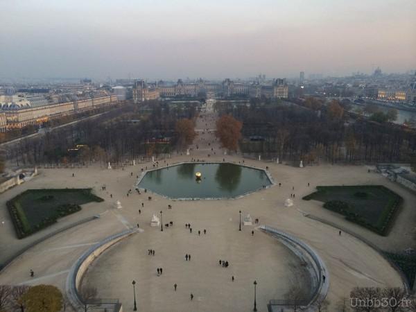 Paris depuis la grande roue