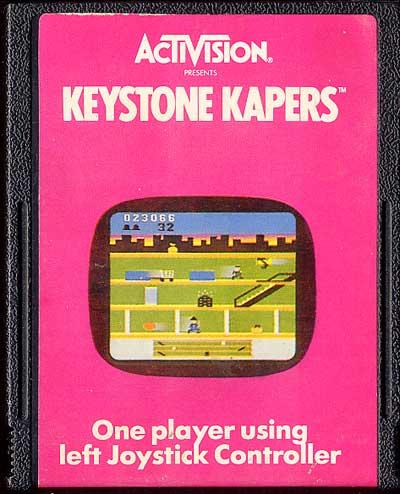 KeystoneKapers atari