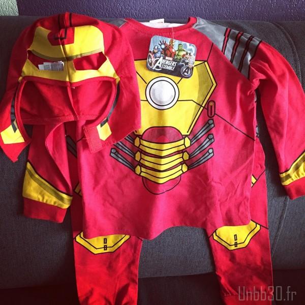 pyjama iron man carrefour