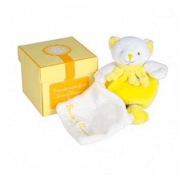doudou et compagnie ours jaune
