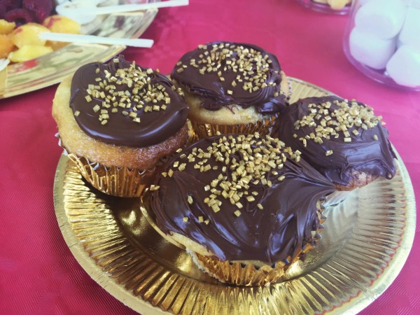 Anniversaire Iron Man Star Wars cupcakes nutella