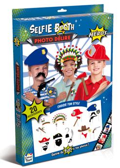 selfie booth héros canal toys