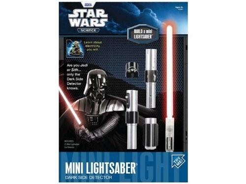 mini sabre laser à construire uncle milton