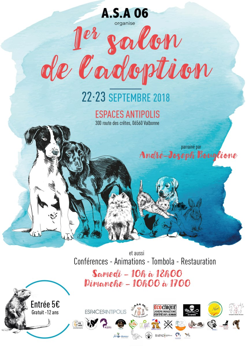 Le 1er salon de l'adoption by ASA06