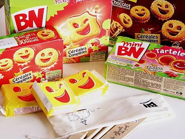 Pack de biscuits BN