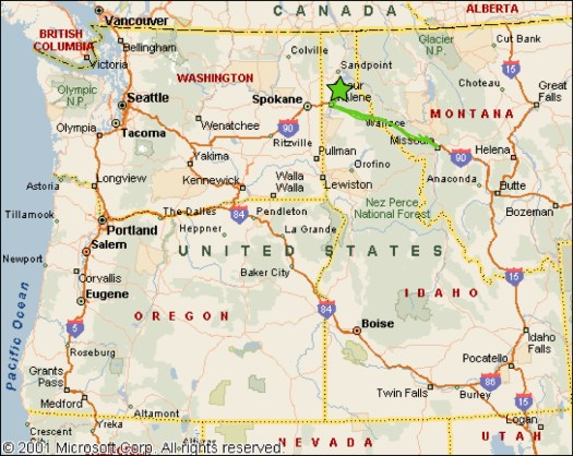 2_Silverwood_Map of NW