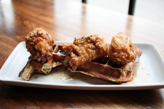 Top Hat Chicken and Waffles