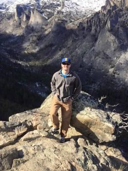 Colin Angland at Blodgett Canyon